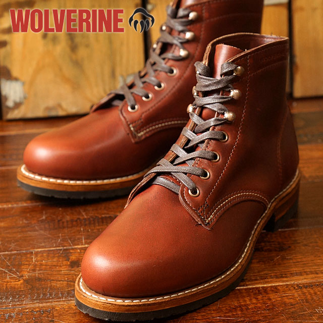 65f6b5a69e0 Wolverine 1,000 mile boot Evans WOLVERINE Wolverine men's work boots 1000  Mile Boots EVANS D wise Dk Brown Leather (W40196 FW16)