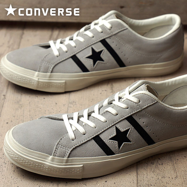 huge selection of 28451 f11ad Converse star  amp  Byrds suede CONVERSE STAR  amp  BARS SUEDE gray   black  ...