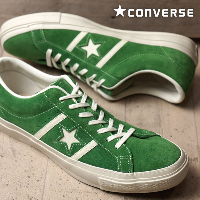 factory price e7c86 2e184 Converse star  amp  Byrds suede CONVERSE STAR  amp  BARS SUEDE green    white men ...