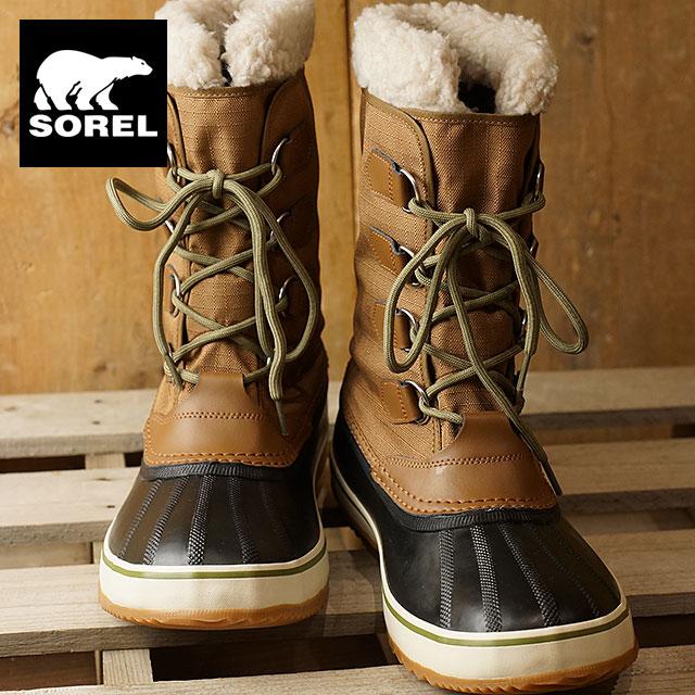 f3fc965d55 Sorrel 1964 pack nylon SOREL men snow boot 1964 PAC NYLON nutmeg / black  (NM1440-260)
