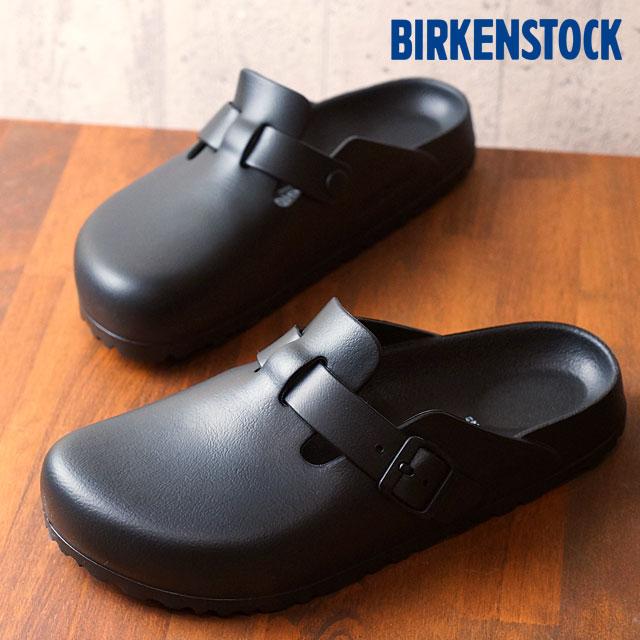勃肯波士顿 EVA 勃肯男式女式凉鞋波士顿 EVA 贝隆夫人黑 (GE127103/GE1002314 FW16)