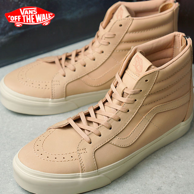 eebb89d6de Vans skating high Lee Shu zip DX VANS SK8-HI REISSUE ZIP DX (VEGGIE TAN  LEATHER) TAN (VN0A349ALUI HO16) shoetime
