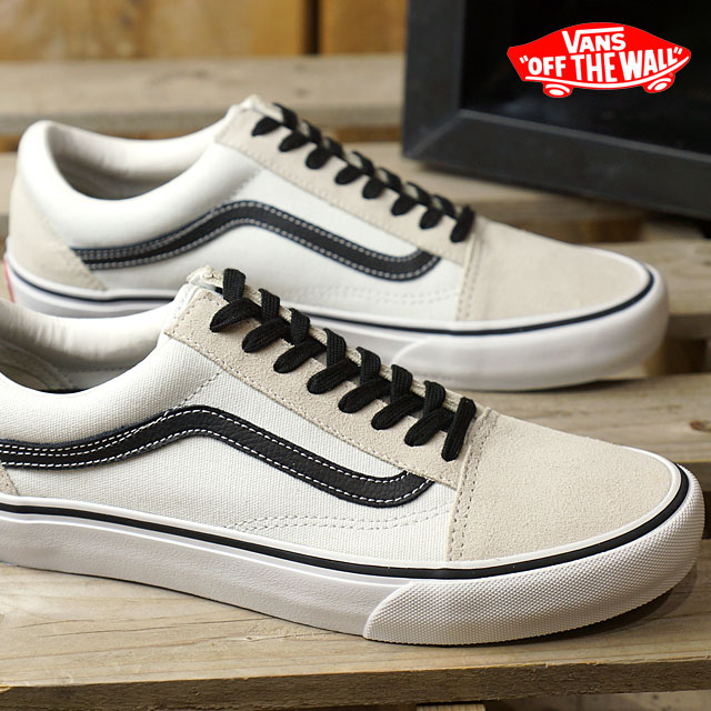 Vans Old Skool Pro 50th Anniversary Skate Shoes '92 WhiteBlack