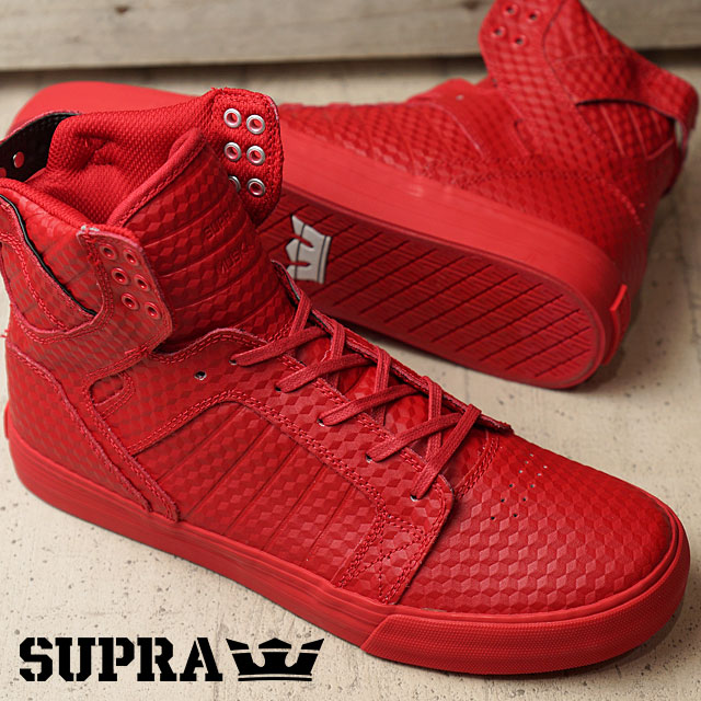official photos f407b 9afe9 Supra Skytop SUPRA Skate Shoes Sneakers SKYTOP red - red (08003-600 FW16)  ...
