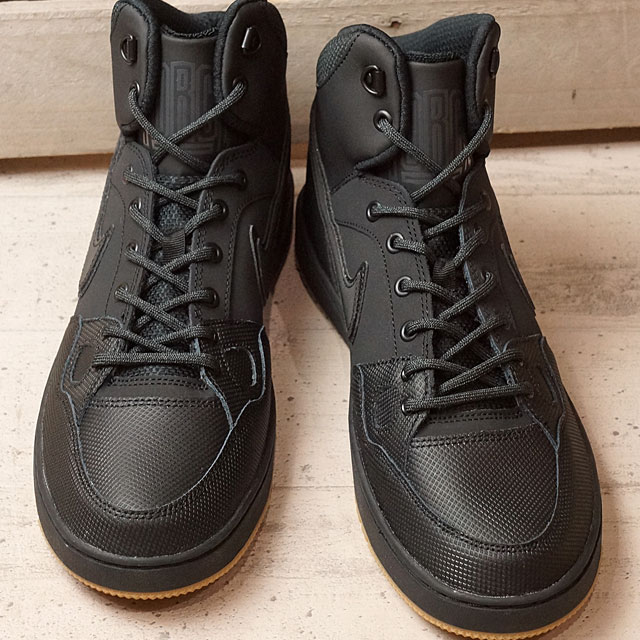 reputable site 51cee a728b NIKE Nike sneakers SON OF FORCE MID WINTER Nike sun of force mid winter  black   black   アンスラサイト   gum light brown (807,242-009 HO16) shoetime