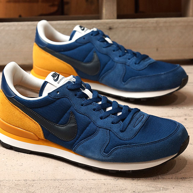 san francisco bd324 5ed37 NIKE Nike sneakers INTERNATIONALIST Nike internationalist coastal blue    dark of Xidan   gold leaf ...