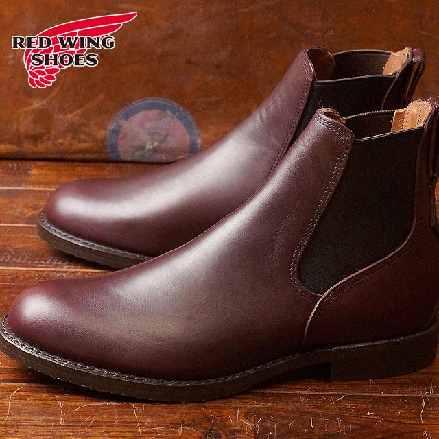 【返品サイズ交換可】レッドウィング ミルワン コングレス ブーツ REDWING Mil-1 Congress Boots Black Cherry Featherstone (9077)【コンビニ受取対応商品】