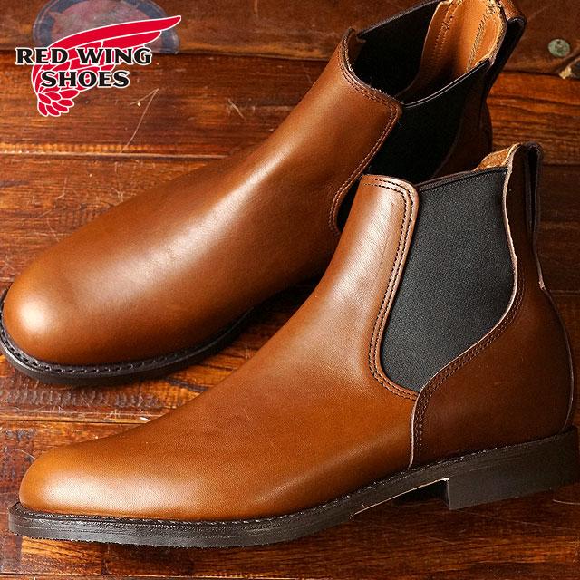 レッドウィング ミルワン コングレス ブーツ REDWING Mil-1 Congress Boots Teak Featherstone 靴 (9078)
