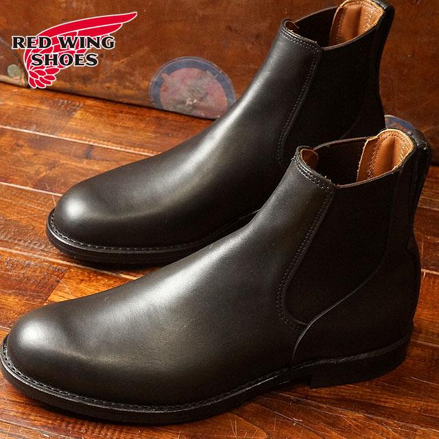 【返品サイズ交換可】レッドウィング ミルワン コングレス ブーツ REDWING Mil-1 Congress Boots Black Featherstone (9079)【コンビニ受取対応商品】