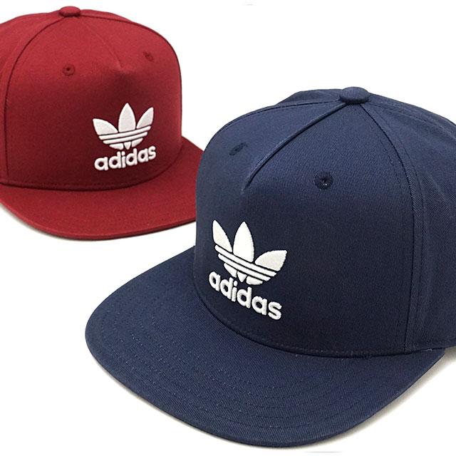 01171078 ... Adidas originals AC トレフォイルフラットキャップ adidas Originals AC TREFOIL FLAT CAP  (MLH57/BK7324 ...