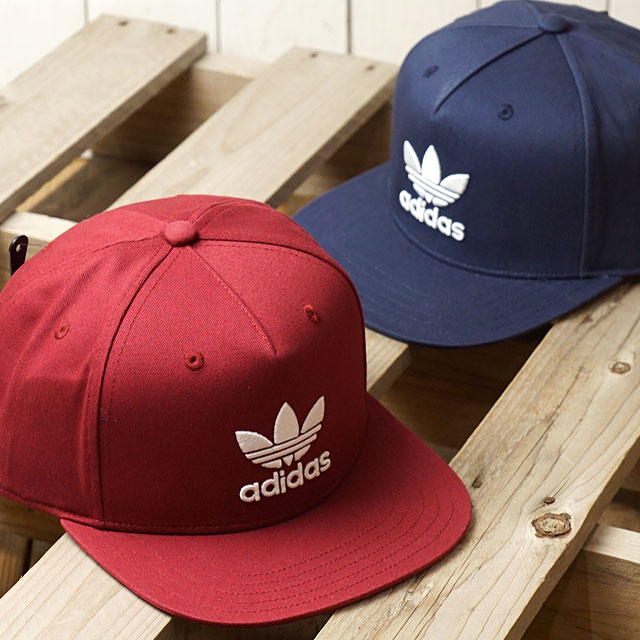 adidas Originals Adidas originals AC TREFOIL FLAT CAP men gap Dis AC  トレフォイルフラットキャップ (BK7324 SS17) beb16841371
