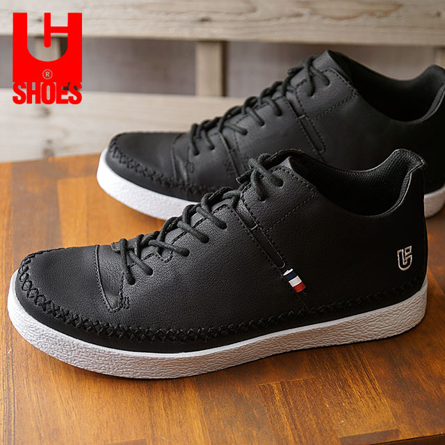 【即納】conqueror shoes コンカラー シューズ メンズ NEWPORT マンハッタン スニーカー BLACK (17FW-NP03 FW17)【コンビニ受取対応商品】