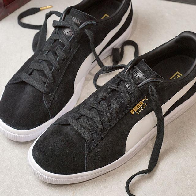 6afd7ec32f1 PUMA Puma sneakers men PUMA SUEDE IGNITE Puma swaying Doi gunite black  P  white (364