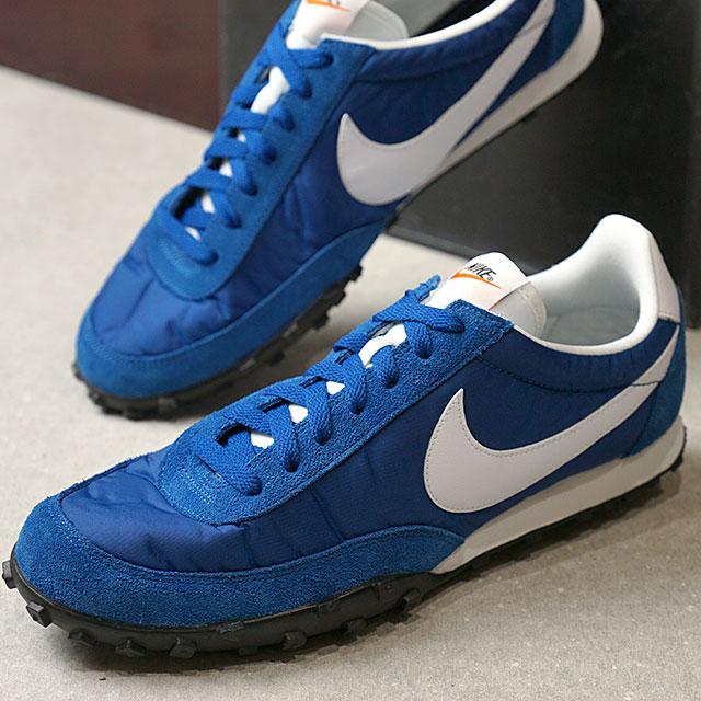 NIKE Nike sneakers men WAFFLE RACER 17 waffle racer 17 blue Jay   white  S  white   black  S orange (876 55b7a67ad