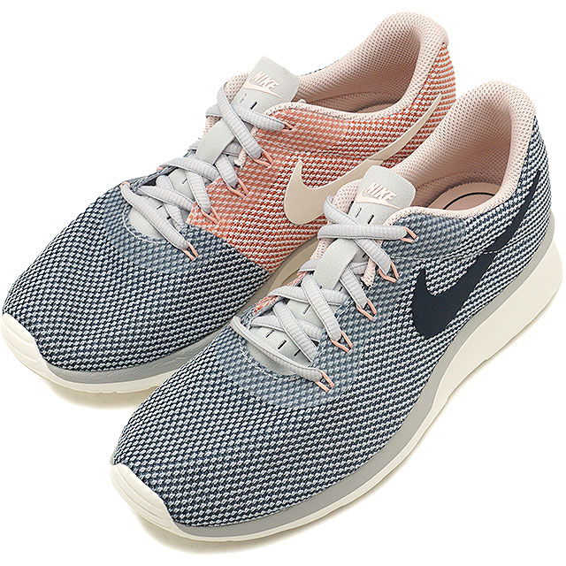 best sale hot sale quite nice where can i buy grey blue womens nike tanjun racer shoes ...