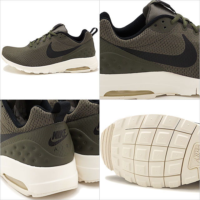 NIKE Nike sneakers men AIR MAX MOTION LW SE Air Max motion LW SE cargo khaki black sail (844,836 302 FW17)