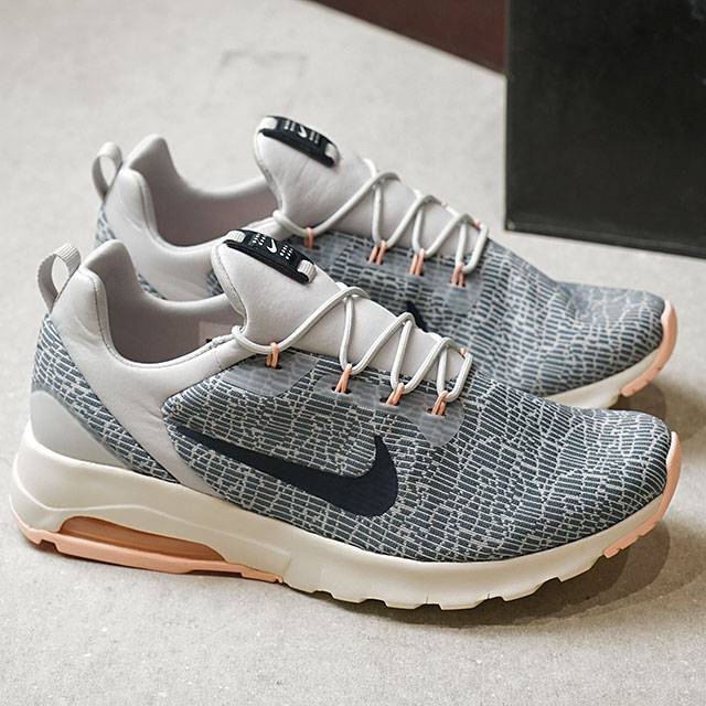 NIKE Nike sneakers Lady's WMNS AIR MAX MOTION RACER women Air Max motion racer A blue A navy P platinum (916,786 400 FW17)