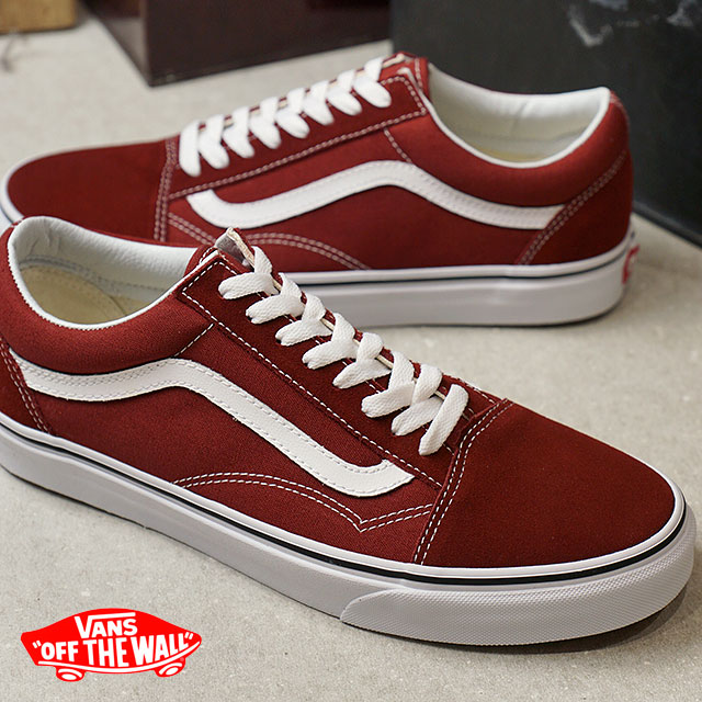 d1e8666b594 VANS vans sneakers men OLD SKOOL old school MADDER BROWN TRUE WHITE  (VN0A38G1OVK FW17)