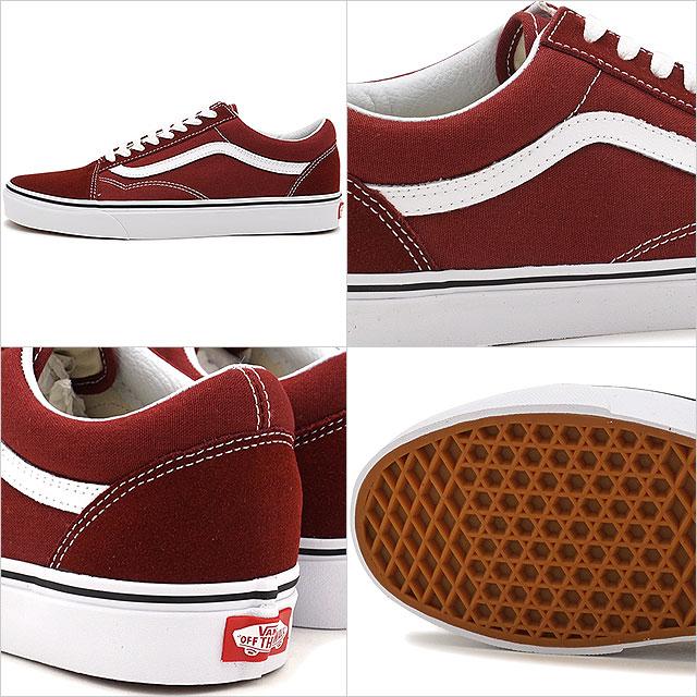 VANS vans sneakers men OLD SKOOL old school MADDER BROWNTRUE WHITE (VN0A38G1OVK FW17)