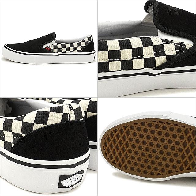 3bbea8696c7ba6 VANS X THRASHER vans slasher sneakers men SLIP-ON PRO slip-on pro (slip-ons)  BLACK CHECKERBOARD skating shoes (VN0A347VOJ6 FW17)