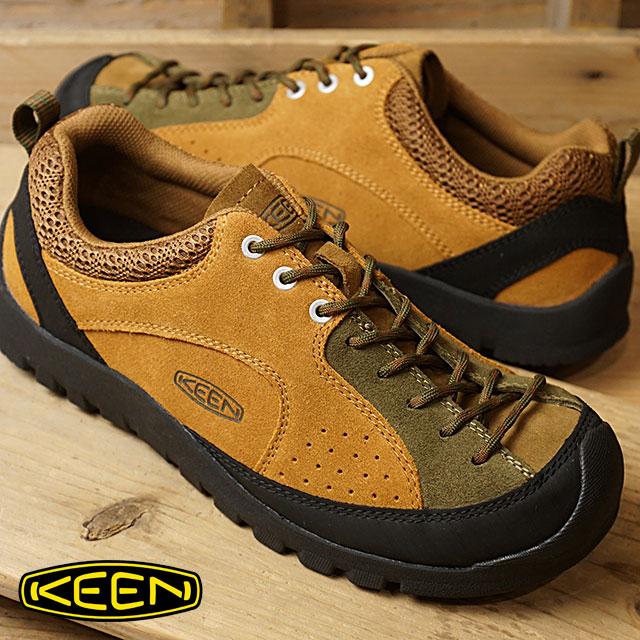 【即納】KEEN キーン スニーカー 靴 メンズ MENS Jasper Rocks ジャスパー ロックス B.Brown/D.Olive (1017661 FW17)【コンビニ受取対応商品】