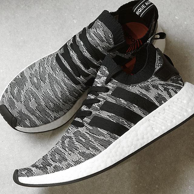 info for f1c73 8904b adidas Adidas NMD_R2 PK N M D prime knit nomad Adidas originals adidas  Originals core black / core black /R white (BY9409 FW17)
