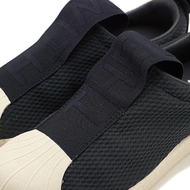 Adidas Superstar Resbalón En Las Zapatillas De Deporte Para Mujer De Negro OlCn7cSR
