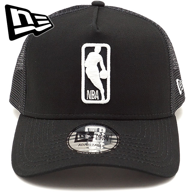 NEWERA new gills cap New Era NBA LOGOMAN 9FORTY A-Frame Trucker NBA logo  man custom A-frame trucker snapback mesh cap baseball cap hat black  S  white ... 05357cd98