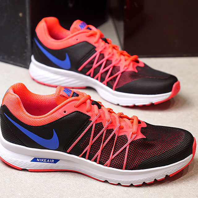 806a431d2b998 NIKE Nike Lady s WMNS AIR RELENTLESS 6 MSL women air re-Lent reply 6 MSL  black   medium blue   hot punch (843