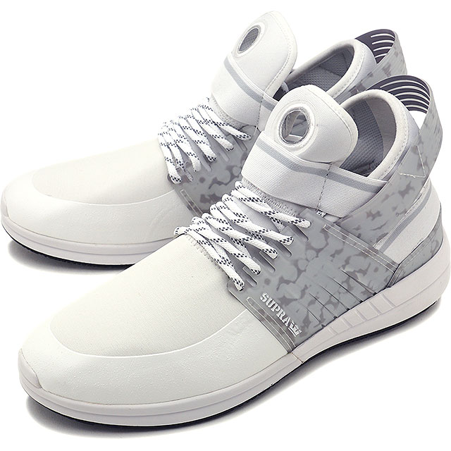 bad8d6993c0a Surpra sky top 5 SUPRA skating shoes sneakers shoes SKYTOP V WHITE BLACK  (08032-102 FW17)