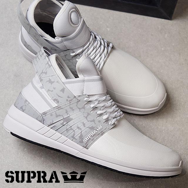 【在庫限り】スープラ スカイトップ5 SUPRA スケートシューズ スニーカー 靴 SKYTOP V WHITE/BLACK (08032-102 FW17)【ts】【コンビニ受取対応商品】