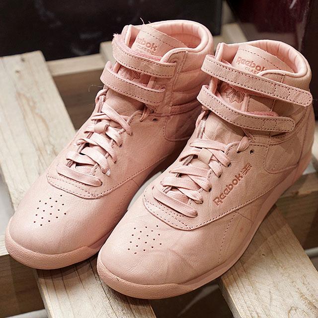 8de452129e Reebok CLASSIC Reebok classical music sneakers Lady's F/S HI FBT (FREE  STYLE) free-style high FBT POLISH PINK (BS6279 FW17)