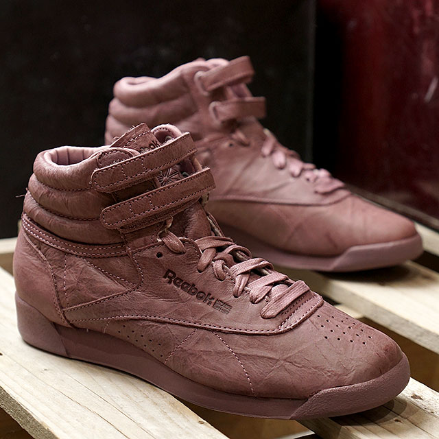 f1c9163456 Reebok CLASSIC Reebok classical music sneakers Lady's F/S HI FBT (FREE  STYLE) free-style high FBT SMOKY ORCHID (BS6280 FW17)