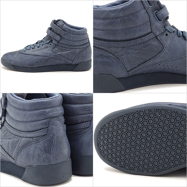 Reebok CLASSIC Reebok classical music sneakers Lady s F S HI FBT (FREE STYLE)  free-style high FBT SMOKY INDIGO (BS6281 FW17) b81e51155