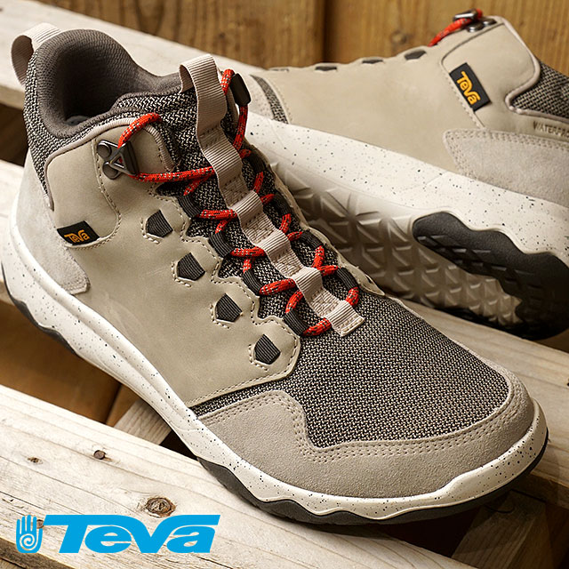 Teva Teva sneakers men MNS ARROWOOD MID WP arrow Wood mid waterproof P トープ (1012484 PLTP FW17)