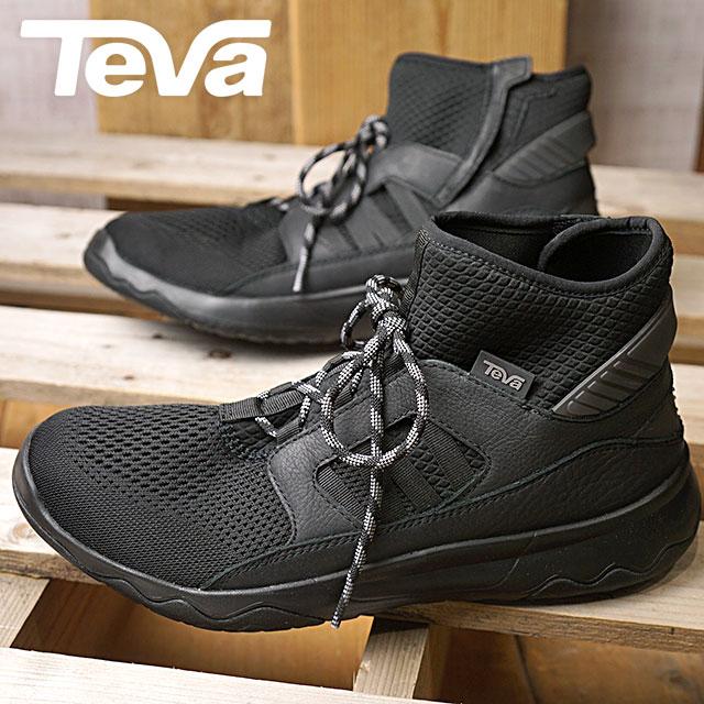 6473691d6 Teva Teva sneakers shoes men MNS ARROWOOD SWIFT MID PREMIER arrow Wood swift  mid premiere black (1018316-BLK FW17)