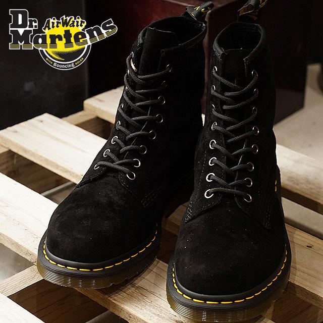 【即納】Dr.Martens ドクターマーチン ブーツ メンズ・レディース 1460 8EYE BOOT 8ホール ブーツ Black ソフトヌバック (21466001 FW17)【コンビニ受取対応商品】