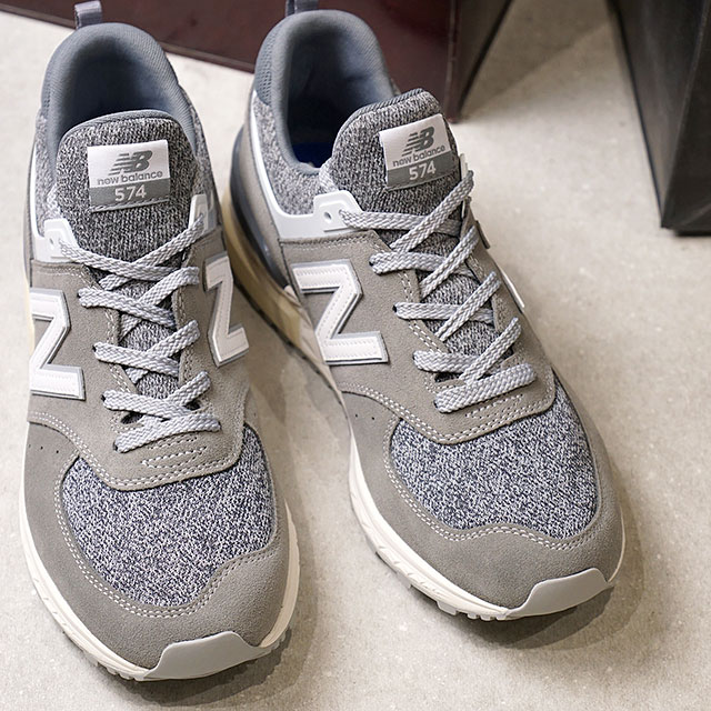 the best attitude 6eb3a 11d78 Newbalance New Balance men Lady's sneakers shoes MS574 gray (MS574BG FW17)