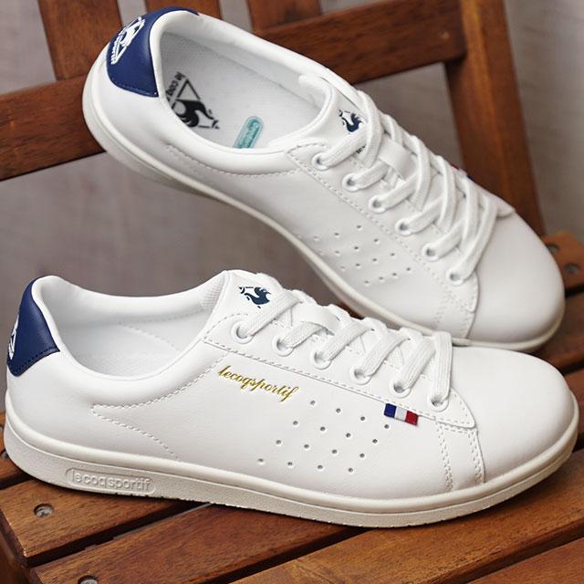 vente en ligne acheter en ligne meilleur site le coq sportif Le Coq Sportif sneakers Lady's LA ROLAND SL LA Loran SL  white / navy (QMT7314WN-WNV FW17)