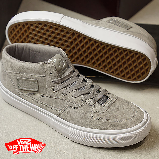 241474f388 Model SILVER (VN0A38CPPHD FW17) of the 25th anniversary of the VANS vans  sneakers men PRO SKATE Pross Kate HALF CAB PRO 25th half cab pro