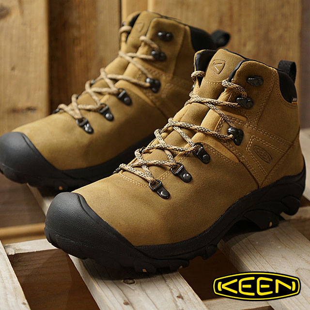 KEEN キーン トレッキングシューズ メンズ MENS Pyrenees ピレニーズ Latte 靴 (1017348 FW17)【コンビニ受取対応商品】