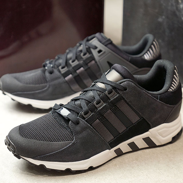 big sale 6b181 77c08 adidas Adidas EQT SUPPORT RF イーキューティーエキップメントサポートアディダスオリジナルス adidas Originals  core black  carbon S14R white (BY9623 FW17)