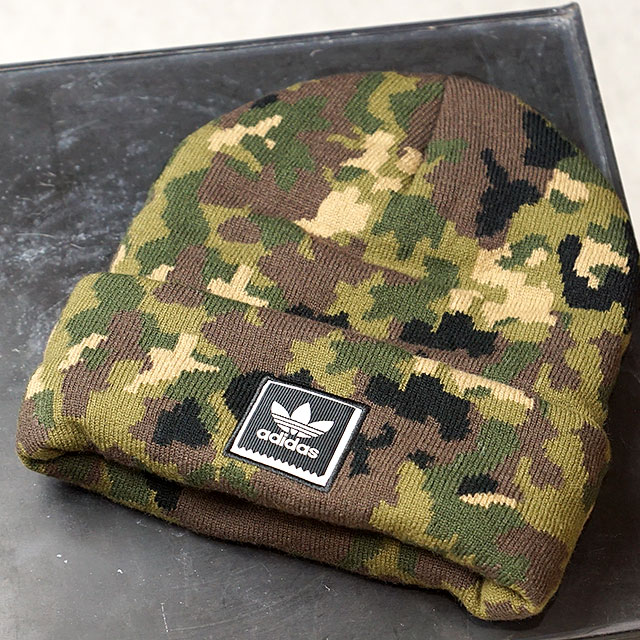 b96306580a8 adidas Adidas knit cap CAMO BEANIE duck beanie Adidas originals adidas  Originals (BR3859 FW17)