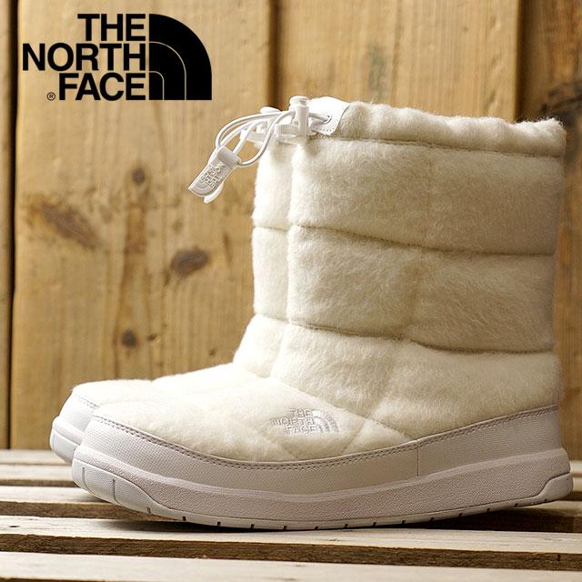 【在庫限り】THE NORTH FACE ザ・ノースフェイス ヌプシ レディース W Nuptse Bootie Wool II ウィメンズ ヌプシ ブーティー ウール 2 W ホワイト (NFW51683)【ts】【e】【コンビニ受取対応商品】