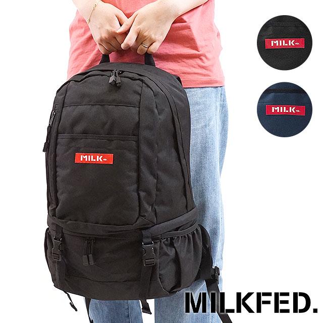 【即納】MILKFED. ミルクフェド リュック BIG BACKPACK BAR 2 ビッグ バックパック バー2 デイパック (03171039 FW17)