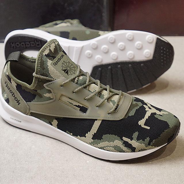 a6151ec51691e Reebok CLASSIC Reebok classical music sneakers men ZOKU RUNNER MF ゾクランナー MF  H.GREEN/ ...
