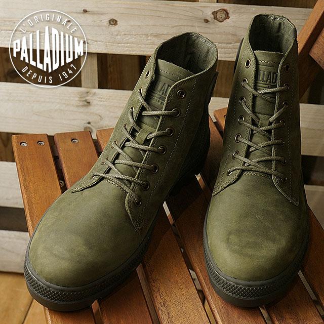 PALLADIUM パラディウム スニーカー 靴 メンズ PALLABOSSE MID パラボス ミッド O.NIGHT/BELUGA (05525-377 FW17)【コンビニ受取対応商品】