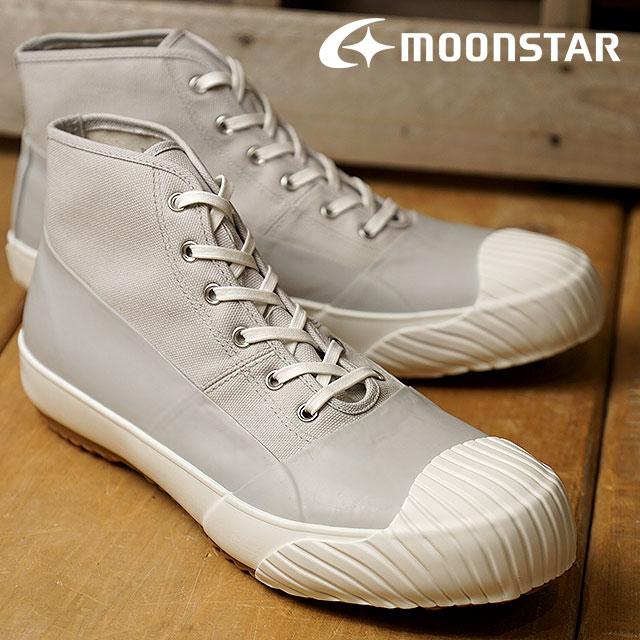 【限定モデル】【即納】Moonstar ムーンスター スニーカー メンズ・レディース FINE VULCANIZED ALWEATHER ファインバルカナイズド オールウェザー GRAYWHITE (54320197 FW17) 日本製 靴【コンビニ受取対応商品】