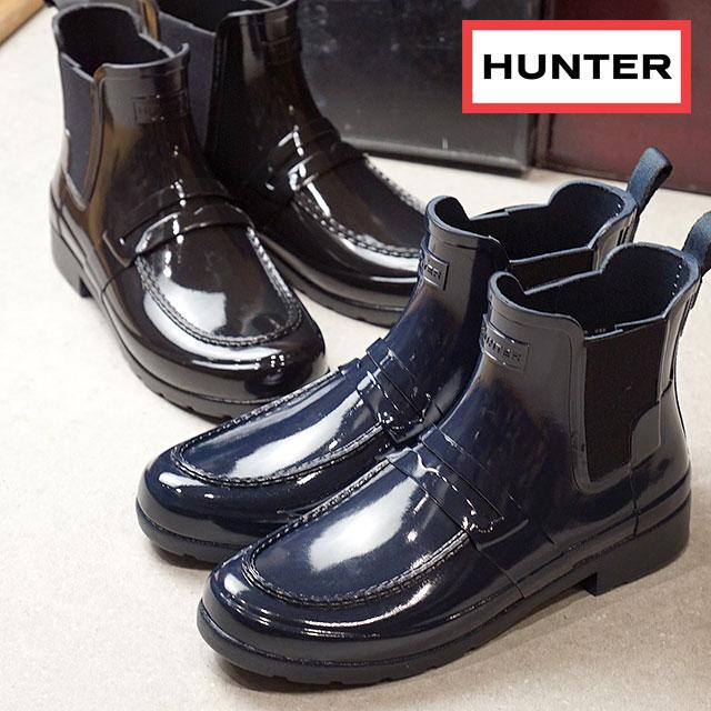 1bf21da15bf HUNTER hunter rain boots Lady s WMNS ORIGINAL REFINED PENNY LOAFER CHELSEA  original re-find penny loafer Chelsea (WFS1002RGL FW17)