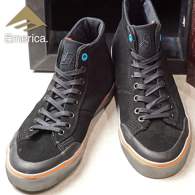 b0d07371aa Emerica Eymet Rika sneakers INDICATOR HI X DEATHWISH indicator high X death  wish BLACK skating shoes (FW17)